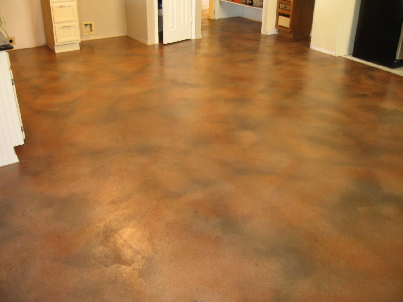 How To Paint Interior Concrete Floors How To Paint A